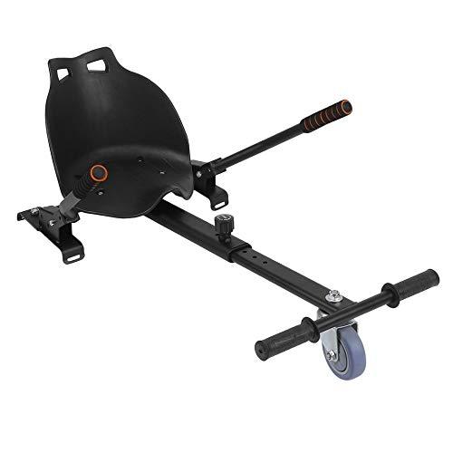 HermosaUKnight DREI-Rad-Gokart-Verstellbarer Hover-Seat HoverKart für Swegway Hoverboard-Schwarz