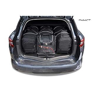 Auto Taschen Renault Megane GRANDTOUR IV 2016+ 4STK KOFFERRAUMTASCHEN KJUST