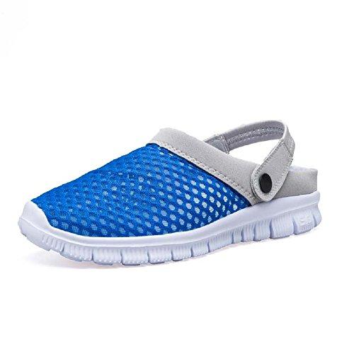 HangFan - Scarpe con plateau uomo Blue