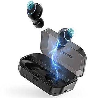 Bluetooth Kopfhörer Kabellos, BesDio Bluetooth Kopfhörer in Ear IPX7,120 Stunden Laufzeit Wireless Earbuds Touch Bluetooth 5.0,Sport Bluetooth Kopfhörer mit Ladekästchen und Integriertem Mikrofon