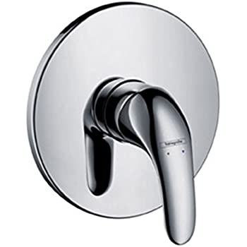 h grohe hg31761000 focus e single lever mixer for shower with complete installation set. Black Bedroom Furniture Sets. Home Design Ideas