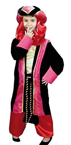 Imagen de disfraz de príncipe árabe infantil