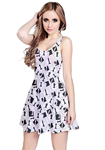 CowCow - Robe - Femme Red Cute Gray Chess