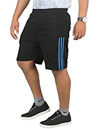 Men's Polyester Shorts, Gym Half Pants