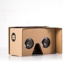 I Am Cardboard - V2-CCB-Kraft - VR Cardboard Dispositivo di Realta Virtuale - Kraft - marrone