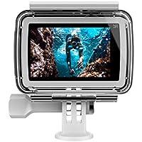 YI Unterwassergehäuse für YI 4K Action Cam, bis zu 40m Wasserdichte Gehäuse Schutzhülle für YI Lite/YI Discovery/YI 4K/YI 4K Plus Sport Kamera