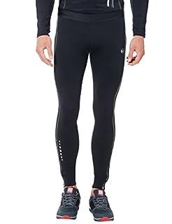 Ultrasport pantalon de course homme, long avec effet de compression et fonction Quick Dry, Noir/Gris Paloma, S (B006HCSJ1W) | Amazon Products