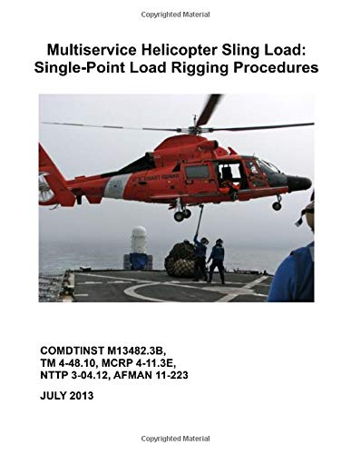 Multiservice Helicopter Sling Load: Single-Point Load Rigging Procedures: COMDTINST M13482.3B Single