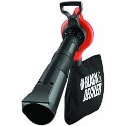 Black and Decker GW2810-QS - Aspirador/soplador/triturador (50 l de capacidad, 2800 W)