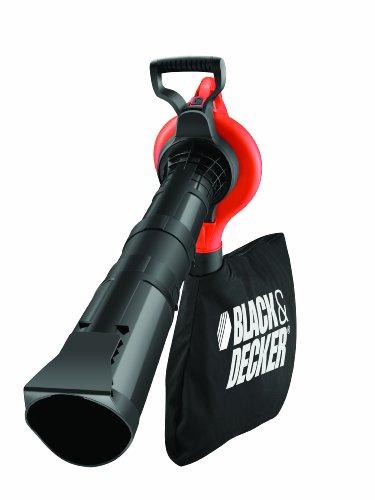 Black+Decker GW2810-QS - Aspirador, soplador y triturador, 2 tubos, 2800 W, color negro y naranja