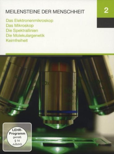 Preisvergleich Produktbild Meilensteine 2 (Das Elektronenmikroskop / Das Mikroskop / Die Spektrallinien / Die Molekulargenetik / Keimfreiheit)