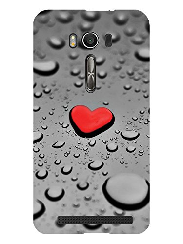 TREECASE Designer Printed Soft Silicone Back Case Cover For Asus Zenfone 2 ZE 500KL (5 inch)