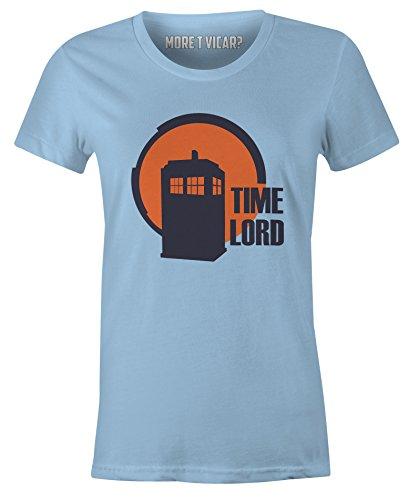 More T Vicar Zeit Lord - Damen Dr. Who Tardis Shirt