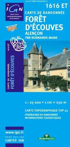 Foret d'Ecouves/Alencon/PNR Normandie-Maine GPS: IGN.1616ET