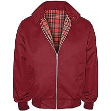 Classic Harrington chaquetas Retro Mod Scooter piel 70de Smart Classic para hombre
