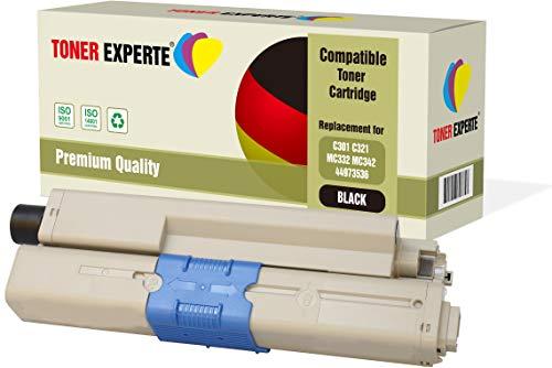 TONER EXPERTE® Compatible 44973536 Negro Cartucho