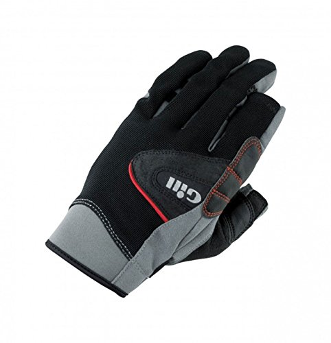 2017 Gill Championship Long Finger Sailing Gloves Black 7252 Size - - Large