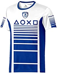 Sony Playstation - Speed Esports - Hombre Oficial Camiseta de Fútbol