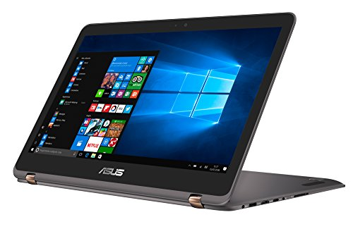 "ASUS UX360UAK-BB281T - Portátil de 13.3"" Full-HD IPS (Intel Core i5-7200U , RAM de 8 GB, SSD de 512 GB, Intel HD Graphics 620, Windows 10 Original) Gris - Teclado QWERTY Español"