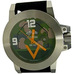 M1A2 ABRAMS Military Watch (Stainless case w/Euro Camo dial) [Watch]