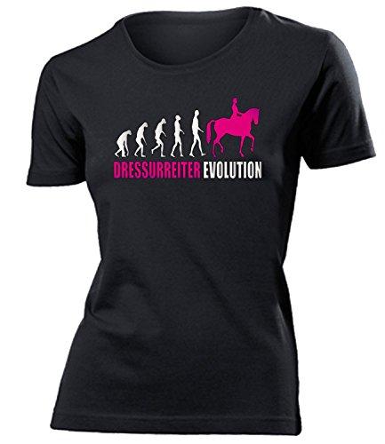 DRESSURREITER EVOLUTION 584(F-SW-Weiss-Pink) Gr. S