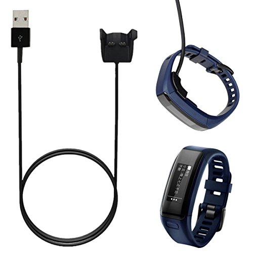 Tutoy Replacement Usb Charging Clip Charger Cradle Cable For Garmin Vivosmart Hr/Hr+