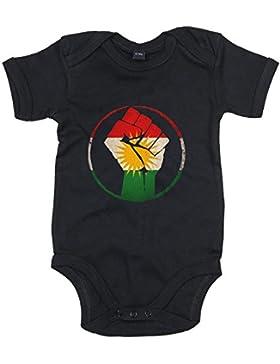 Kurden #1 Premium Babybody | Iran | Türkei | Syrien | Mädchen und Jungen | Kurzarmbody