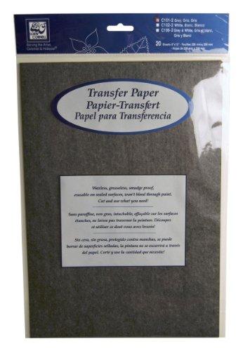 Unbekannt Loew Cornell C101–24-teilig grau Transfer Papier Pad, 9-inch-by-13-inch
