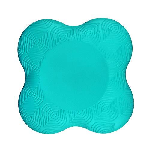 Gentoo Yoga Knie Pad Fitness Sprot Pad Unterstützung Schutz für Knie, Hände, Handgelenk und Ellenbogen (Grün)