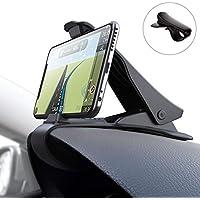 DyDiy Supporto Auto Smartphone per Auto Cruscotto GPS HUD per 4''-6.5'' Dispositivi Come GPS,iPhone XS X 8 Plus,Samsung S9 S8,Huawei P20 Lite,Xiaomi Mi A2 Lite,LG