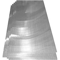 Deuba® Hohlkammerstegplatten 14 Stück | 10,25 m² | Polykarbonat Doppelstegplatten | 1210 x 605 x 4 mm pro Platte | für Gewächshäuser und Gartenhäuser