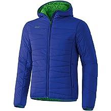 Erima - Plumífero, color azul y verde azul Indigo Blau/Deep Sage Talla:small