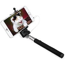 apsmart no recargable AUX Cable Wired selfie stick para Smart Phone
