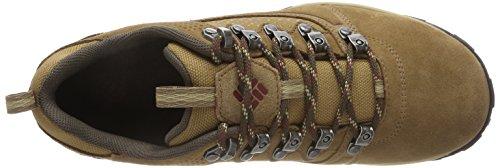 Columbia Herren Sneakers, Wasserdicht, Peakfreak Venture Low Suede Braun  (Delta, Deep Rust)