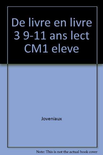 De livre en livre lect CM1 eleve