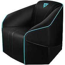 ThunderX3 US5HEXC - Sofá gaming (7 colores RGB, 3 efectos, cuero sintético premium