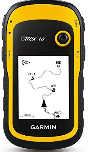 Garmin Etrex 10 - GPS portátil con pantalla transflectiva monocromo de 2,2...