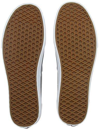 Vans Authentic, Zapatillas de Tela Unisex, Negro (Black/White), 40 EU