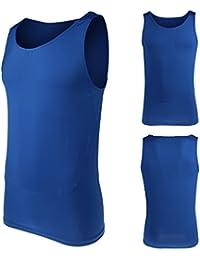 T-shirt Compression à Manches Courtes Maillot d'entraînement Fitness pour Homme Femme