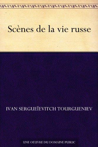 Couverture du livre Scènes de la vie russe