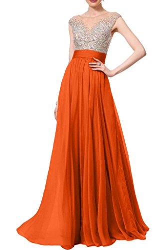 Missdressy -  Vestito  - Donna Rosso/Arancione