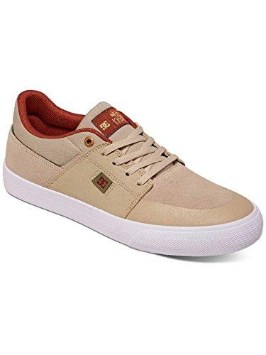 DC Skate Shoes - DC Wes Kremer Signature Shoes - Black/Grey/White Marron - Tan/Brown