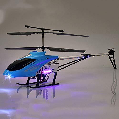 Ycco Riesen 85CM RC Hubschrauber-Fernsteuerungsflugzeuginnen 3.5 Kanäle Hobby Fliegen Hubschrauber zusätzliche Stabilität RC Flugzeug Spielzeug-Geschenk for Kinder Crashfestigkeit Im Einklang eingebau