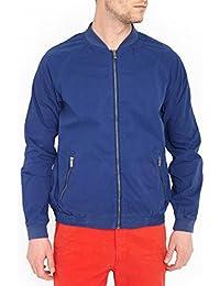 Scotch & Soda Homme Dyed Bomber Jacket, Bleu