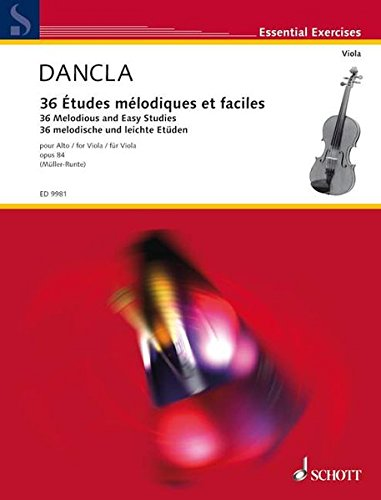 36 Melodious & Easy Studies Op 84