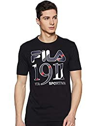Fila Men's Solid Regular fit T-Shirt