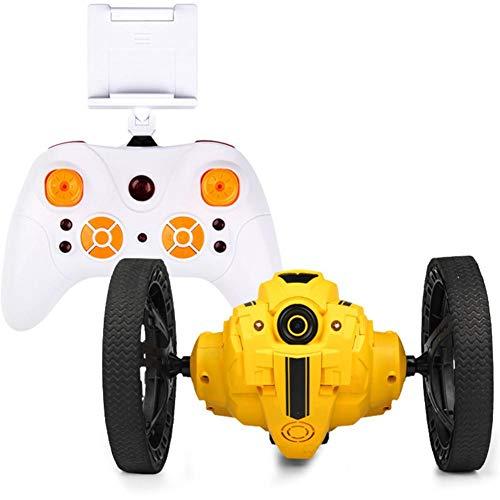 er Prellen Auto mit WIFI-Kamera,Rc Auto Kinderspielzeug mit Wiederaufladbare Li-ion-Akku 2,4GHz 20 Minuten Spielzeit für Kinder Jungen Mädchen,mit Licht und Musik ()