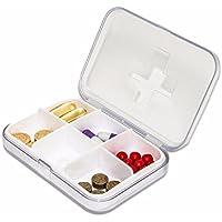 Für Eine Woche Am Kit Tragbare Medizin - Box Mini - Medizin - Pillen Versiegelt und Medizin - Box,Weiße preisvergleich bei billige-tabletten.eu