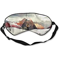 Sleep Eye Mask Mountain Snow Triangle Lightweight Soft Blindfold Adjustable Head Strap Eyeshade Travel Eyepatch... preisvergleich bei billige-tabletten.eu