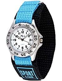 Gaigor Niño Relojes de Pulsera Deportivos para Infantiles Relojes de Cuarzo analógico Azul G022W003